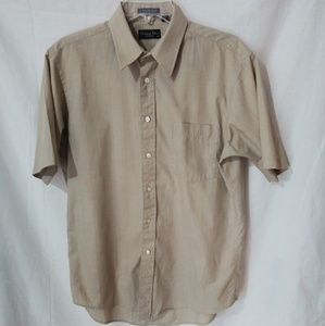 Vintage Christian Dior Button Front Shirt 15-1/2